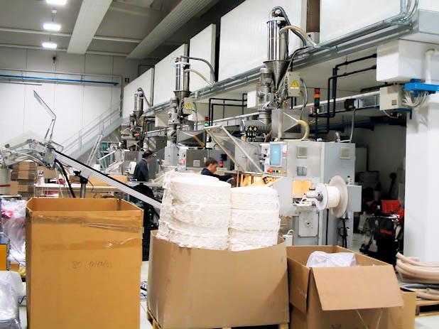 Sistema trasporto pneumatico per farine fossili